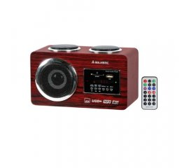 New Majestic AH-173 USB SD radio Portatile Legno