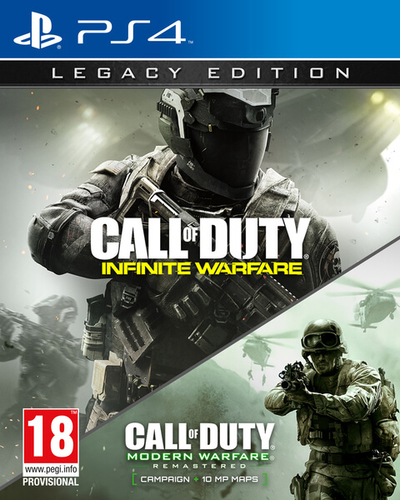 Activision Call of Duty: Infinite Warfare & Legacy Edition, PS4 videogioco PlayStation 4 Base + supplemento ITA 2