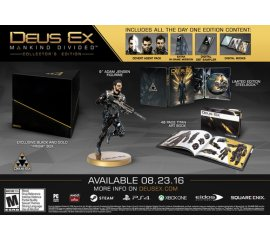 Koch Media Deus Ex: Mankind Divided - Collector's Edition, Xbox One videogioco Collezione Inglese