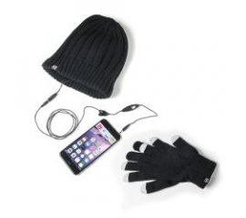 Celly WINTERKITBK cuffia e auricolare Nero