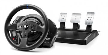 Thrustmaster T300 RS GT Sterzo + Pedali PC,PlayStation 4,Playstation 3 Analogico/Digitale Nero