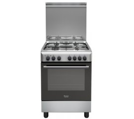 Hotpoint H64MH2AF (X) IT cucina Piano cottura Acciaio inossidabile Gas A