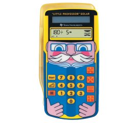 Texas Instruments Little Professor Solar calcolatrice Tasca Calcolatrice grafica Multicolore