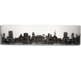 Falmec Wall New York Adatto per uso interno Nero, Bianco 18 W