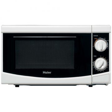 Haier HGN-2070M forno a microonde Over the range Solo microonde 20 L 700 W Nero, Bianco