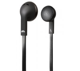 MySound Speak Flat Cuffia Auricolare Nero