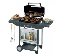 Campingaz Texas Re.volution 8200 W Barbecue Gas Carrello Nero, Grigio