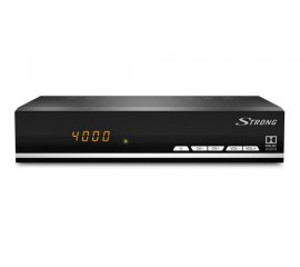 Strong SRT 7007 set-top box TV Satellite Full HD Nero