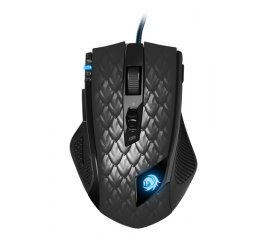 SHARKOON MOUSE LASER USB GAMING 11 TASTI 8200DPI CAVO 180CM SOFTWARE INCLUSO