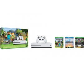 MICROSOFT XBOX ONE S 500GB + MINECRAFT LIMITED EDITION