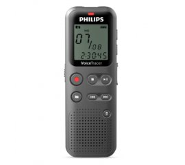 PHILIPS DVT1110 REGISTRATORE VOCALE DIGITALE VOICE TRACER INGRESSO USB