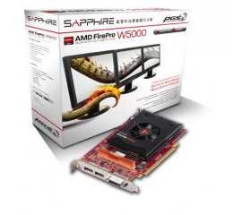 SAPPHIRE AMD FIRE PRO W5000 SCHEDA GRAFICA 2GB GDDR5 INTERFACCIA PCI EXPRESS 3.0 CON VENTOLA