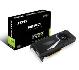 MSI V330-011R scheda video NVIDIA GeForce GTX 1070 8 GB GDDR5