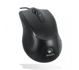 Atlantis Land OptiNet USB mouse USB tipo A Ottico 1000 DPI