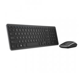 DELL 580-ACZM WIRELESS KEYBOARD MOUSE TASTIERA ITALIANA + MOUSE WIRELESS COLORE NERO