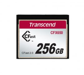 Transcend CFX650 memoria flash 256 GB CFast 2.0 MLC