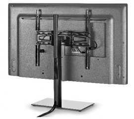 "480807 PIEDISTALLO TV 32""-55""CM40X40 BASE V.FUME STAND400"
