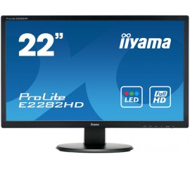 "iiyama ProLite E2282HD-B1 LED display 54,6 cm (21.5"") 1920 x 1080 Pixel Full HD Nero"