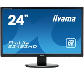 "iiyama ProLite E2482HD-B1 LED display 61 cm (24"") 1920 x 1080 Pixel Full HD Nero"