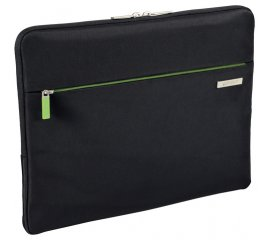 "LEITZ 60760095 CUSTODIA PER NOTEBOOK 13.3"" IN POLIESTERE COLORE NERO/VERDE"