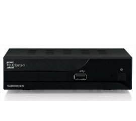 Telesystem TS6808 set-top box TV Terrestre Full HD Nero