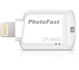 Photofast CR-8800 lettore di schede Bianco Lightning