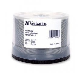 Verbatim DVD-RAM 3x Double Sided, 50pk 9,4 GB 50 pezzo(i)
