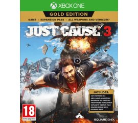 SQUARE-ENIX XONE JUST CAUSE 3 GOLD EDITION