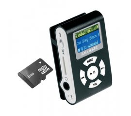 New Majestic SDB-8339 Lettore MP3 8 GB Nero