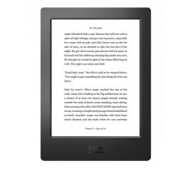 Rakuten Kobo Aura H2O lettore e-book Touch screen 4 GB Wi-Fi Nero