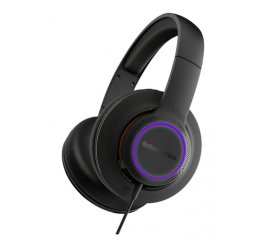 STEELSERIES SIBERIA 150 CUFFIE GAMING CON MICROFONO CAVO 1.5MT CONNETTORE USB COLORE NERO