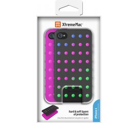 XtremeMac Microshield Layers IPP-HY5-13 custodia per cellulare Cover Nero, Multicolore