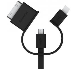XtremeMac 3 IN 1 USB Mobile Cable cavo USB 1 m Min