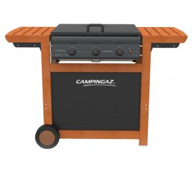 Campingaz 3 Series Classic Adelaide 3 Woody 14000 W Barbecue Gas naturale Carrello Nero