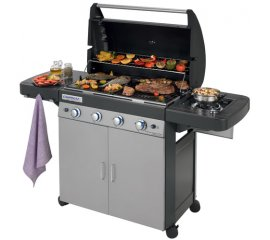 Campingaz 4 Series Classic LS Plus 12800 W Barbecue Gas Zona cottura Nero, Grigio