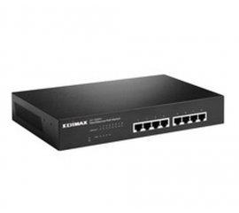 Edimax ES-1008PH switch di rete Non gestito Fast Ethernet (10/100) Nero Supporto Power over Ethernet (PoE)