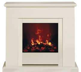 Dimplex Eng56-400 Moorefield Caminetto freestanding Elettrico Bianco