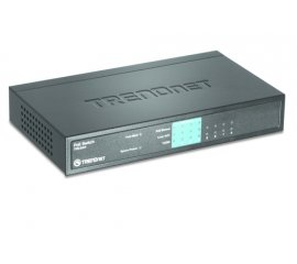 Trendnet TPE-S44 switch di rete Non gestito Blu Supporto Power over Ethernet (PoE)
