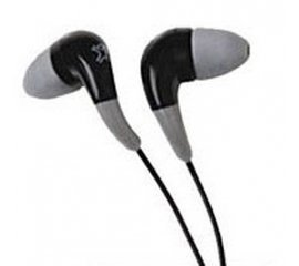 XtremeMac FS1 High Definition Earphones - Black Intraurale Nero