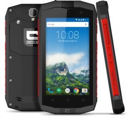 "CROSSCALL TREKKER M1 CORE DUAL SIM 4.5"" QUAD CORE 8GB RAM 1GB 4G LTE IP67 ITALIA BLACK/RED"