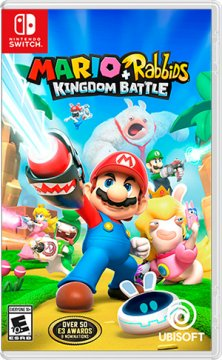 UBISOFT SWITCH MARIO + RABBIDS KINGDOM BATTLE