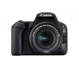 Canon EOS 200D + EF-S 18-55mm 4.0-5.6 IS STM Kit fotocamere SLR 24,2 MP CMOS 6000 x 4000 Pixel Nero
