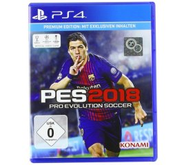 KONAMI PS4 PES 2018 PRO EVOLUTION SOCCER 2018 PREMIUM EDITION