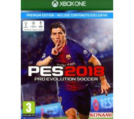 Konami Pro Evolution Soccer 2018 Premium Edition