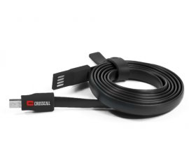 CROSSCALL CAVO PIATTO USB/MICRO-USB COLORE RED/BLACK