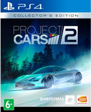 NAMCO PS4 PROJECT CARS 2 COLLECTOR EDITION