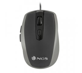 NGS Tick Silver mouse Mano destra USB tipo A Ottico 1600 DPI