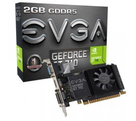 EVGA 02G-P3-3713-KR scheda video NVIDIA GeForce GT 710 2 GB GDDR5