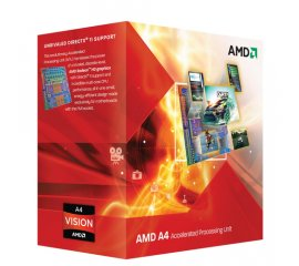 AMD A series A4-3400 processore 2,7 GHz Scatola 1 MB L2