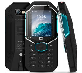 "CROSSCALL SHARK-X3 DUAL SIM 2.4"" 3G IP68 GALLEGGIANTE ITALIA BLACK"
